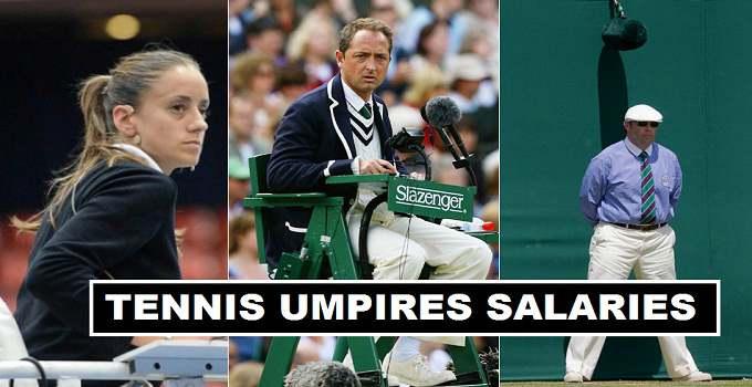 Tennis Chair Umpires Salaries 2017