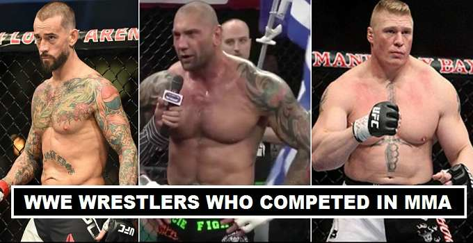 WWE Wrestlers Competed in UFC 2017