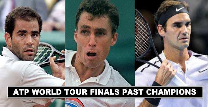 ATP World Tour Finals Past Winners 1970-2018