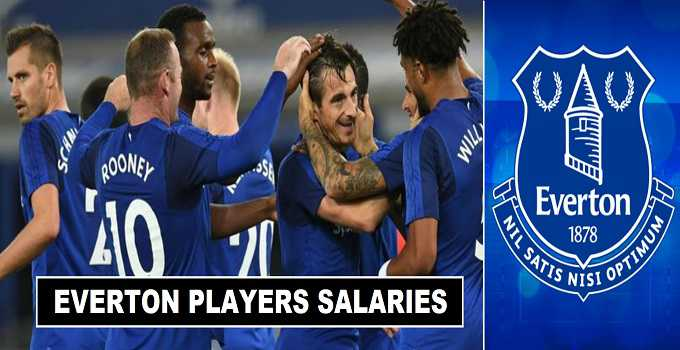 Everton Players Salaries & Weekly Wages 2017