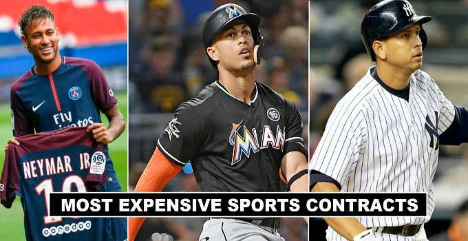 Most Expensive Sports Athletes Contracts