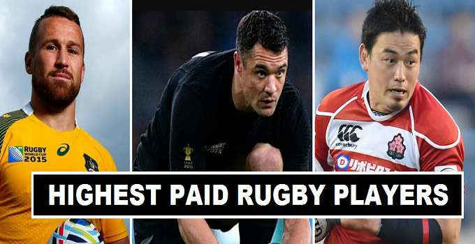 2017 Highest Paid Rugby Players in the world