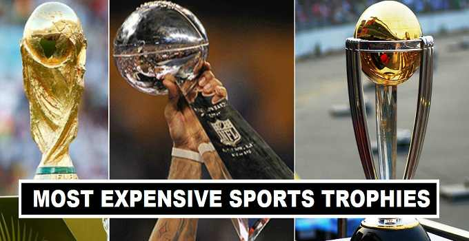 15 Most Expensive Sports Trophies 2017