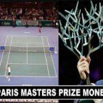 Paris Masters 2017 Prize money winners share