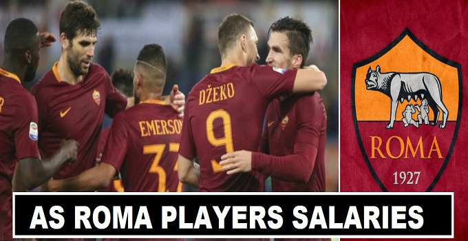 AS Roma Players Salaries 2017 Contracts