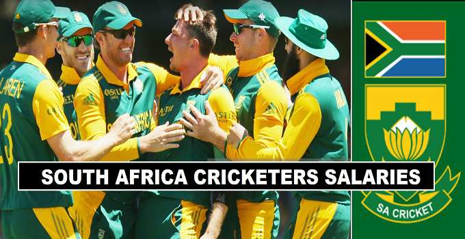 South Africa Cricket Players Salaries 2017