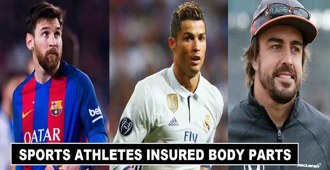 Sports Athletes who insured body parts