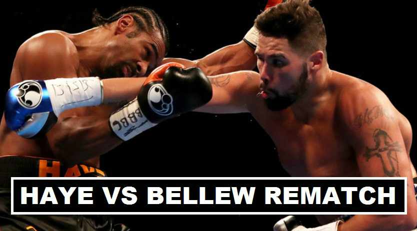 Bellew vs Haye Re-match Date Announced 2017