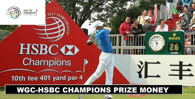 WGC HSBC CHAMPIONS 2017 PRIZE MONEY ANNOUNCED