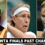 WTA Finals Past Winners (Martina Navratilova Most Successful Player with 8 Titles)