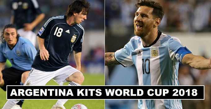 Argentina World Cup 2018 Home & Away Kits