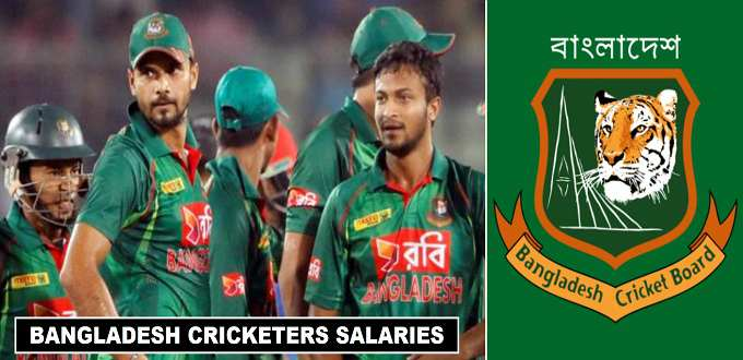 Bangladesh Cricket Players Salaries