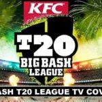 TV Channels Broadcasting T20 Big Bash League 2017-18