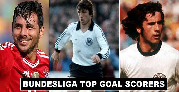 All time Leading Goal Scorers in Bundesliga History