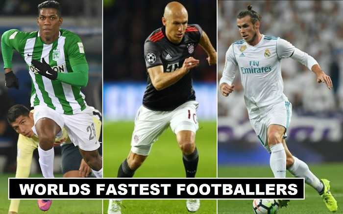 Fastest Footballers in the world 2017-18 Revealed