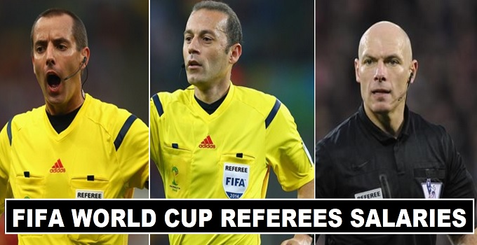 Fifa World Cup 2018 Referees Salaries