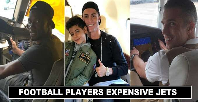 Football players owned expensive private jets 2017