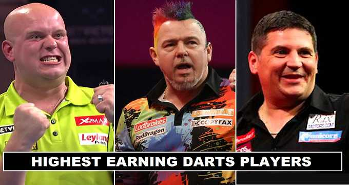 Highest Earning Darts Players in 2017 (Revealed)