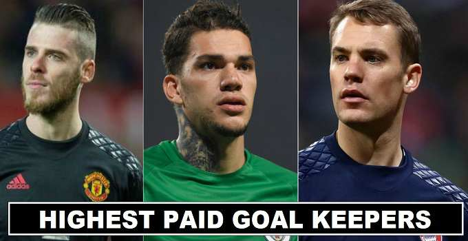 Highest Paid Goal Keepers in the World 2017