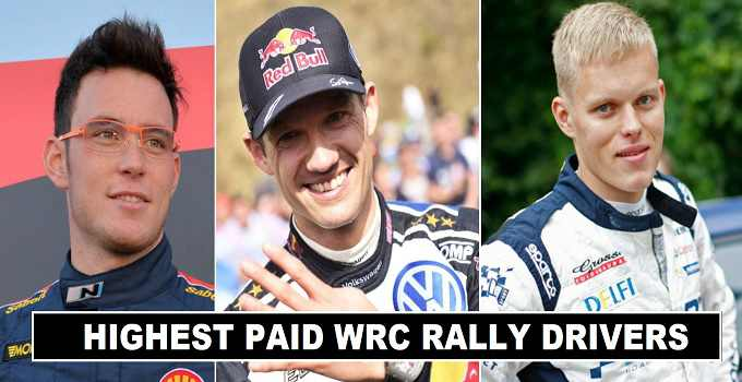 Highest Paid WRC Rally Drivers 2017 Revealed