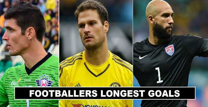 Football Players Long Range Goals of all time