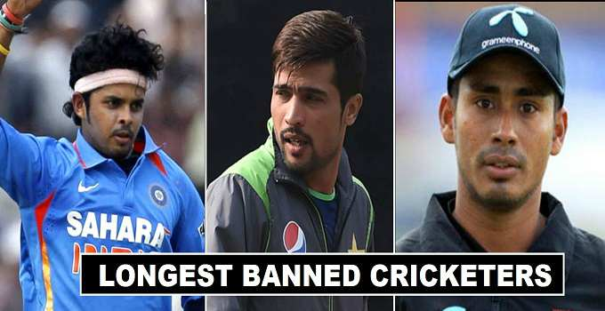 Cricket Players Longest Ban in History Ever