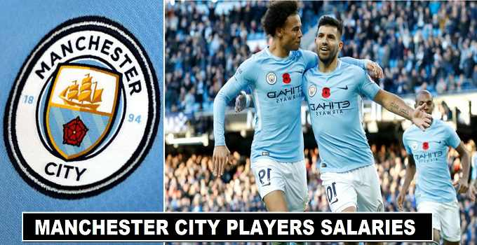 Manchester City Players Salaries & Wages 2017