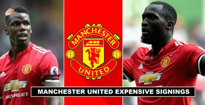 Manchester United Expensive Transfer Signings all time