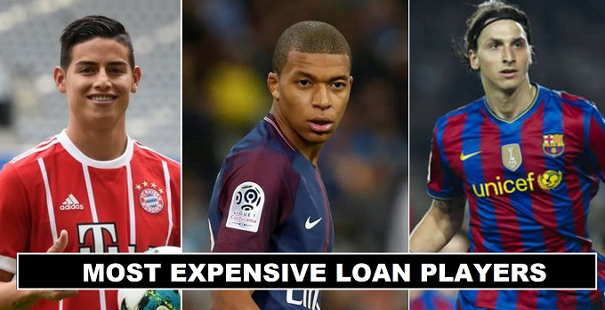 Most Expensive Loan Deals in Football