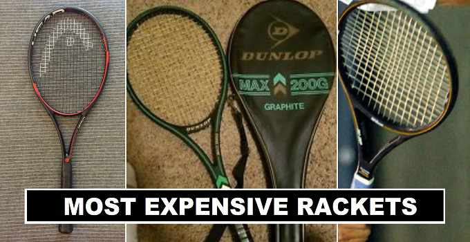 Most Expensive Rackets in the world