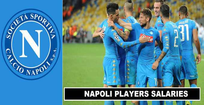Napoli Players Salaries 2017 Weekly Wages