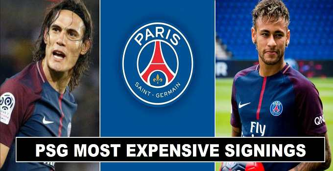 PSG Expensive Player Signings 2017