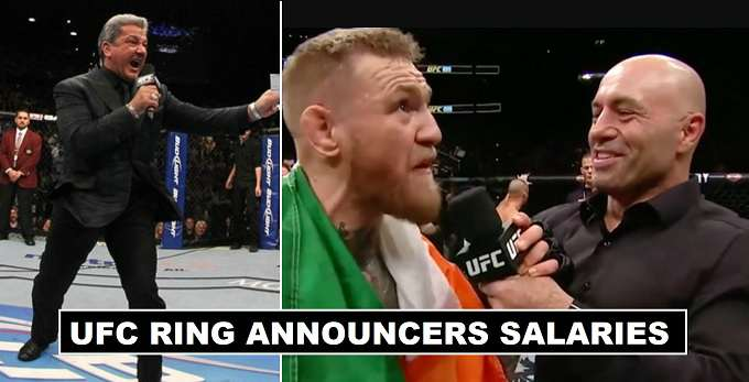 UFC Ring Announcers Salaries 2017 revealed