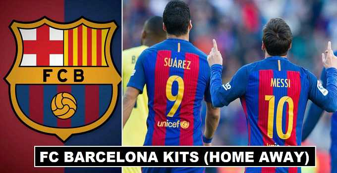 Barcelona Home & Away Kits 2018-19 Revealed
