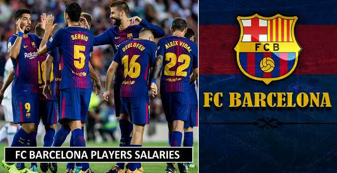 Barcelona Players Salaries 2018 Weekly Wages