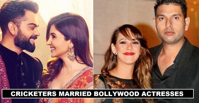 Cricketers Married to Bollywood Actresses 2018