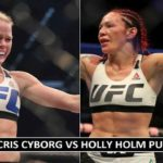 Cris Cyborg vs Holly Holm Purse Payout 2017