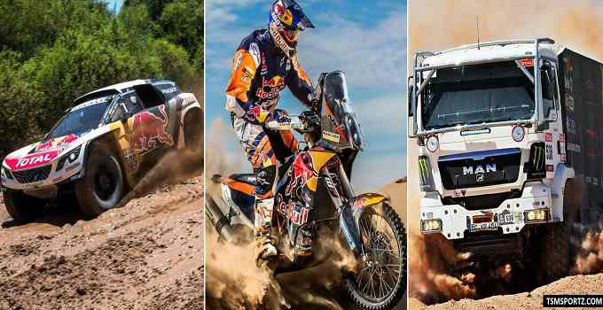 Dakar Rally 2018 Live Stream Coverage