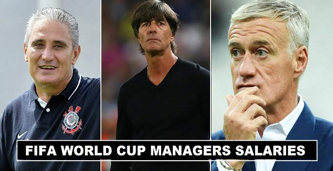 Fifa World Cup 2018 Managers Salaries Revealed