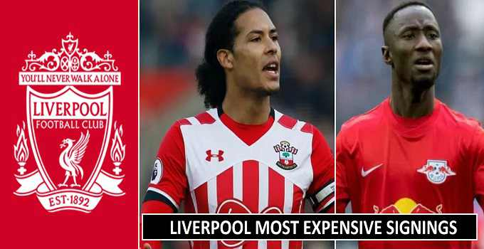 Liverpool Expensive Signings in transfer window 2018