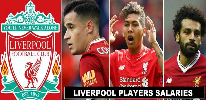 Liverpool Players Salaries 2018 Weekly Wages