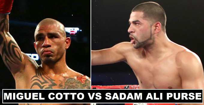 Miguel Cotto vs Sadam Ali Purse Payout 2017