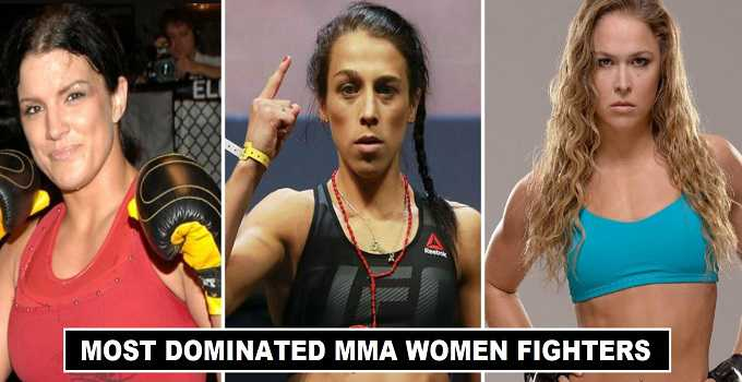 Dominated UFC WOMEN Fighters of all time