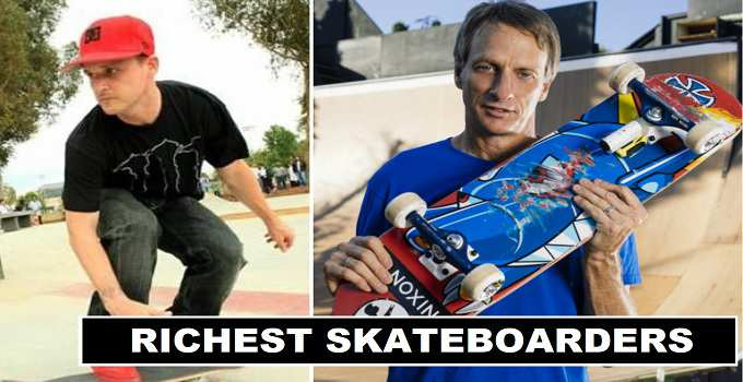 The Richest 15 Skateboarders in the World 2018