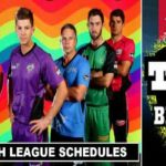 T20 Big Bash League 2017-18 Schedule (Confirmed)