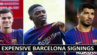 The Most Expensive Barcelona Signings (Players List)