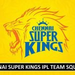CSK 2018 IPL Squad Players List
