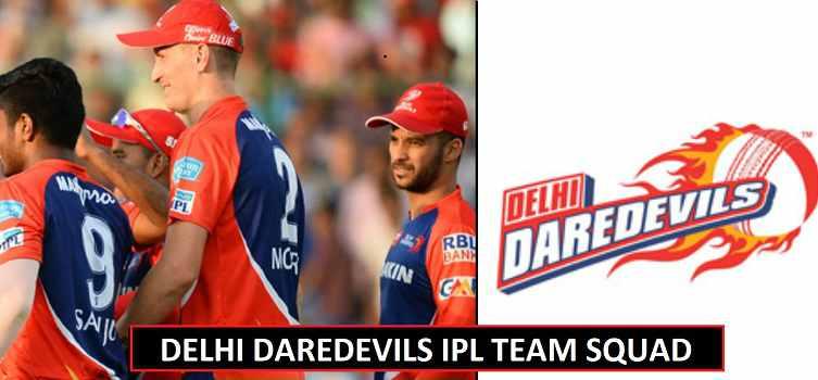 Delhi Daredevils Team Squad IPL 2018