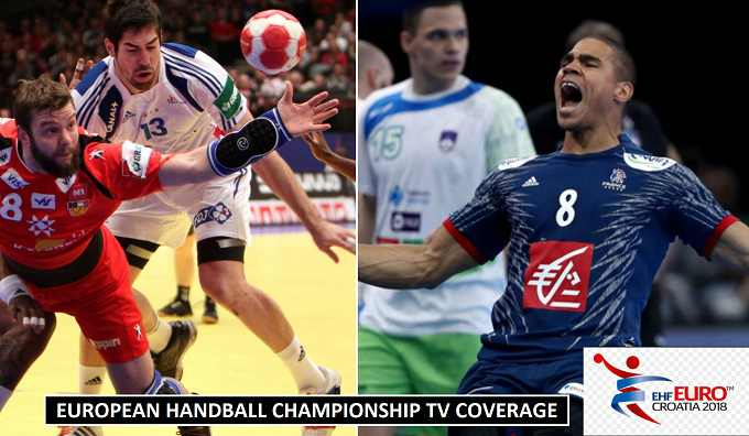 European Men's Handball Championship TV Broadcasters 2018