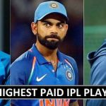 IPL 2018 Highest Paid Players (Cricketers List)